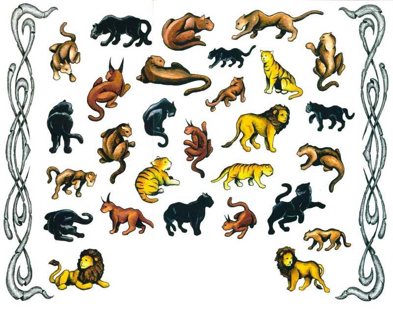 татуировки животных рисунки