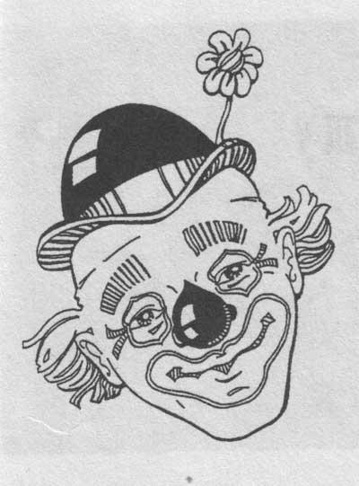 Клоун татуировка