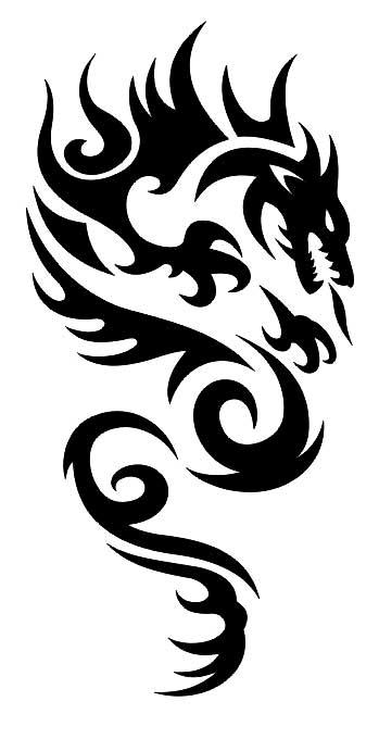 Татуировка дракона Тату дракона эскизы, значение
