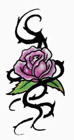 Цветной эскиз тату розы - ТАТУИРОВКИ ...: tattoo-piter.narod.ru/tattoo-html/katalog/rasteniya/roza/24.html