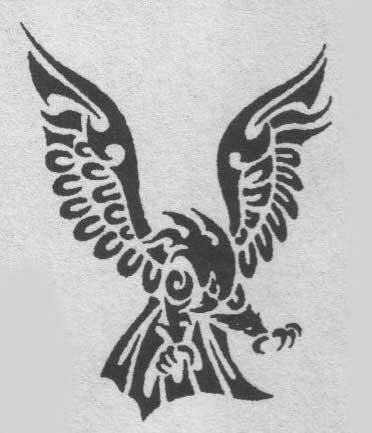Горгулья татуировка эскиз