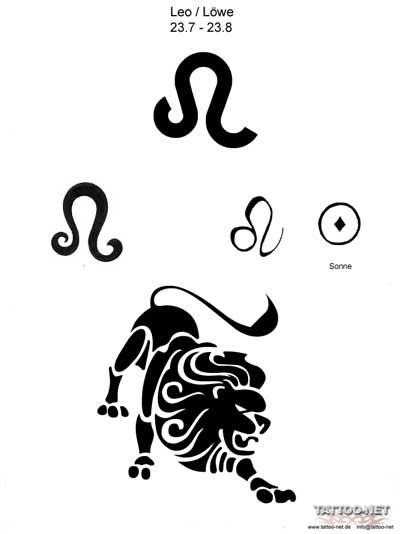 лев знак зодиака картинки: