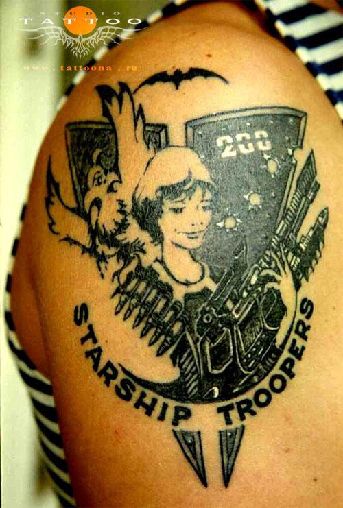 армейские тату картинки